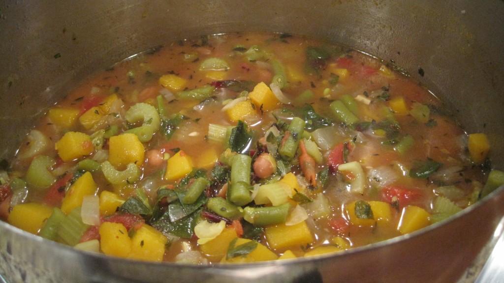 Winter Vegetable & Bean Soup