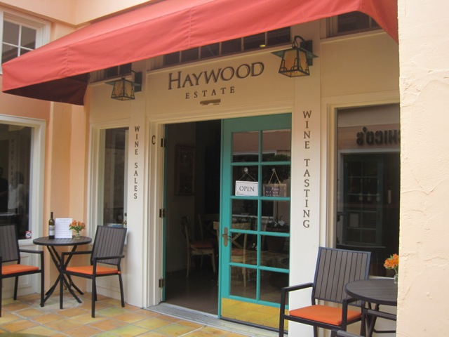 Haywood Wine Tasting, Sonoma