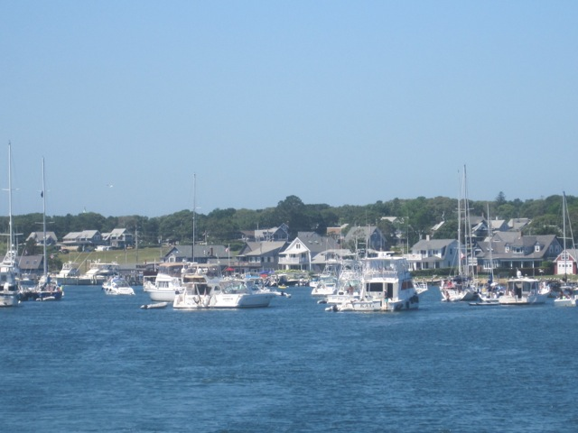 Martha's Vineyard view from ferry