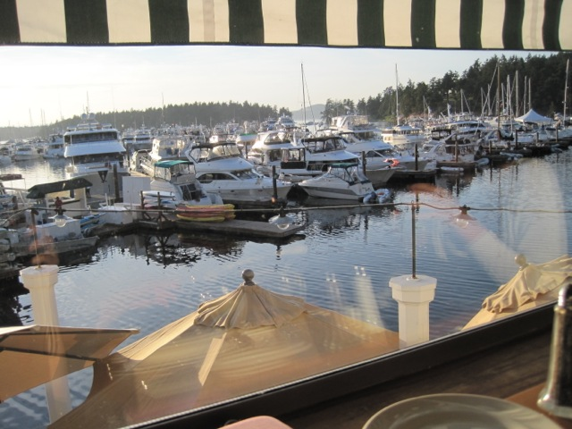 View from McMillans, Roche Harbor Resort