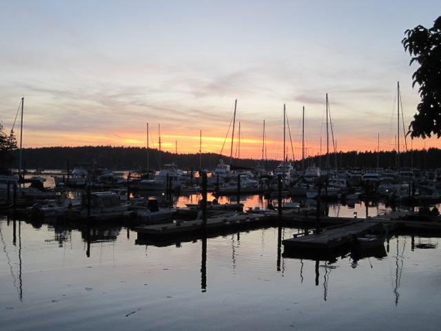 Sunset on Roche