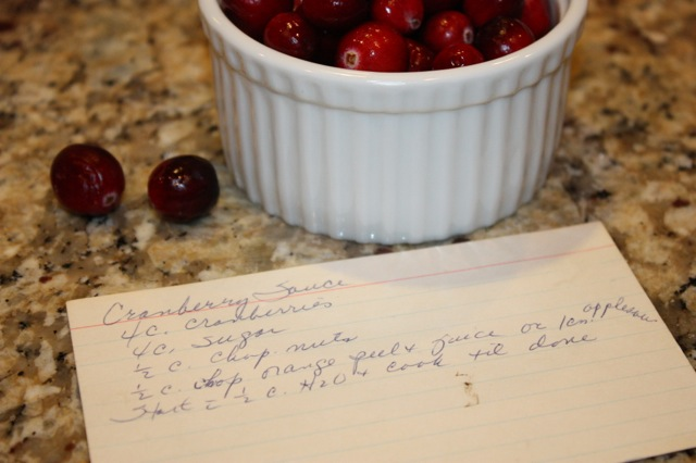 Carol's Cranberry Sauce Recipe